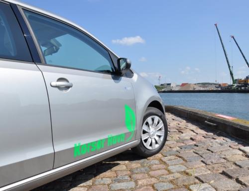 100% eldrevet bil hos Korsør Havn skal sikre en mere energi og miljøvenlig havedrift.